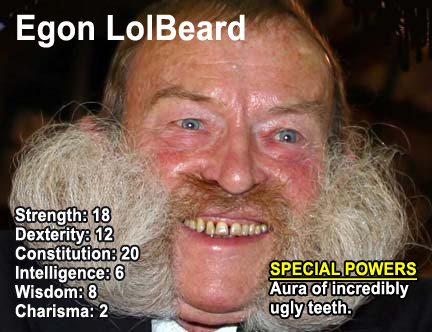 Grimt skæg