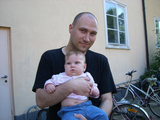 Jan og Tims baby